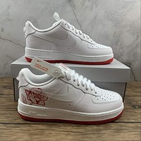 Morechoice Tuhz Nike Air Force 1 Low Gs Thank You Plastic Bag Sneakers Casual Skaet Shoes Cn8534-100