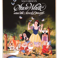 Snow White Disney Movie Poster 24x36