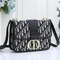 Dior CD Hot Selling Fashion Ladies One Shoulder Messenger Bag