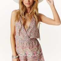 FIRST BLUSH ROMPER