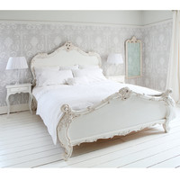 NEW! Provencal Sassy White French Bed