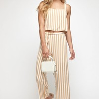 Lottie Moss Tie Front Striped Pants at PacSun.com