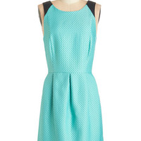Kensie Mid-length Sleeveless A-line Laud-er and Louder Dress