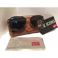 Cheap Ray Ban Aviator black 58mm outlet