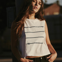 Strike Through RVCA Tank Top | RVCA