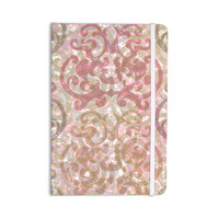 "Chickaprint ""Chintz"" Gold Pink Everything Notebook"