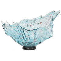 Free-Form Art Glass Bowl