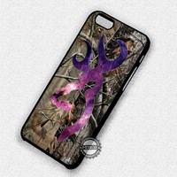 Love Browning Deer Camo Galaxy - iPhone 7 Plus 6S 5 SE Cases & Covers