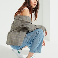 UO Grey Checkered Blazer | Urban Outfitters