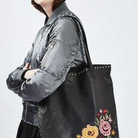 Tango Embroidered Shopper - Bags & Purses - Bags & Accessories