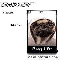 New Design Funny Hilarious Pug Life Parody Fans For Ipad Air Case Please Make Sure Your Device With Message Case UY