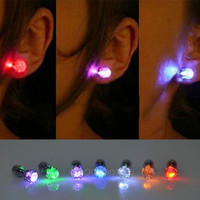 One Pair Light Up Led Earrings Studs Dance Party Accessories for Party/Xmas = 1946930372