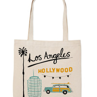 Los Angeles Everyday Tote | Claudia Pearson Illustration