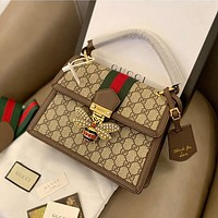Gucci bee fashion all-match single shoulder bag