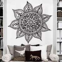 Sun Vinyl Wall Decal