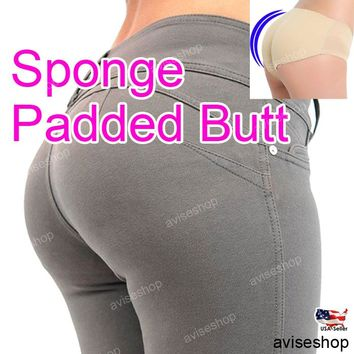 Women Panty Butt Padded Panties Big Hip up Seamless boost underwear intimate pad
