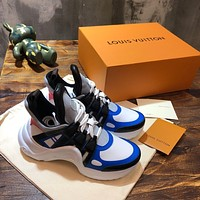 lv louis vuitton womans mens 2020 new fashion casual shoes sneaker sport running shoes 12