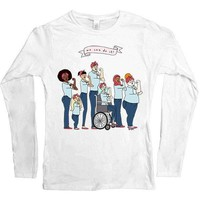 Intersectional Rosie -- Women's Long-Sleeve
