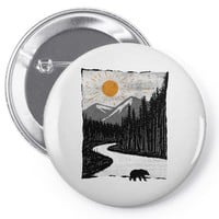 wild Pin-back button