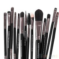 makeup brushes set, women's fashion accessories, 15PCS Makeup Tool Brushes Set Kit Foundation Eyeshadow Mascara Lip Brush Eyebrow = 1945751236
