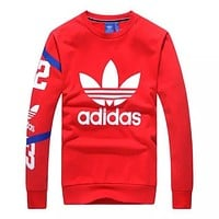 Adidas Women Men Fashion Casual Top Sweater Pullover