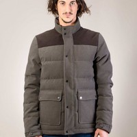 Aspen down-jacket from the F/W 2012/13 Be Different collection in grey