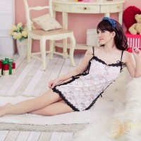 Hot Deal On Sale Cute Sexy Underwear Sleepwear Spaghetti Strap Exotic Lingerie [6596828419]