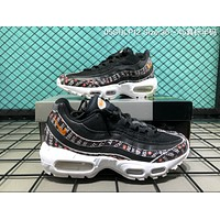 DCCK2 A061 Nike Air Max 95 OG Just Do It Causal Running Shoes Black