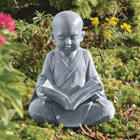 Park Avenue Collection Baby Buddha Studying Statue