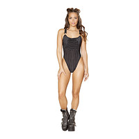 Roma Rave 3551 - 1pc Overall Romper with Pocket Front Detail