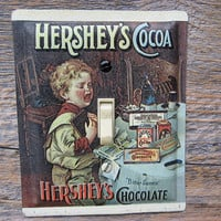 Single Light Switch Cover Switchplate Hershey's Chocolate Cocoa Switch Plate Made From An Old Tin Can SP-0349
