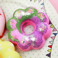 Fairy Flower Mini Donut Bath Bomb