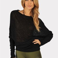 Stable Knit Sweater - Black at Necessary Clothing