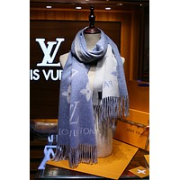 LV Fashion Men Women Letter Print Cashmere Scarf Scarves