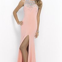High Neck Prom Dress by Blush
