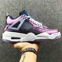 NIKE Air Jordan 4th Generation Series Jordan aj AIR JORDAN 4 Chameleon Purple