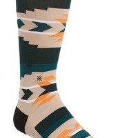 Men's Dwyane Wade & Stance 'High Noon' Crew Socks, Size Large/X-Large - Orange