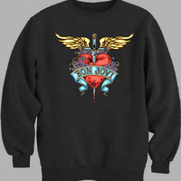 logo Bon Jovi Sweater for Mens Sweater and Womens Sweater ***