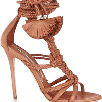 Brian Atwood - Yuna braided leather sandals