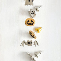Quirky Glitz is Halloween Earring Set by ModCloth