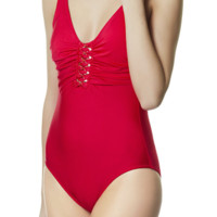 Gottex Jewels of the Sea One Piece  Swimsuit