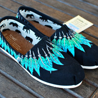 Black Canvas Moccasin TOMS