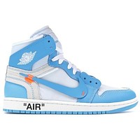 Air Jordan 1 Retro High ¡°Off-White UNC¡±