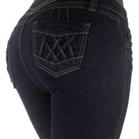 Style G536- Colombian Design, High Waist, Butt Lift, Levanta Cola, Skinny Jeans