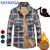 Stab Proof Mens Flannel