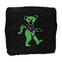 Grateful Dead Men's Athletic Wristband Black
