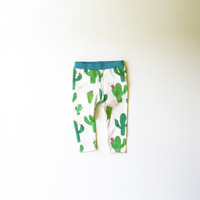 Cactus Piñatas Organic Baby and Kids Leggings