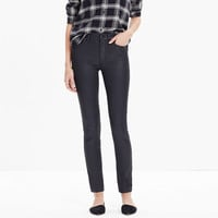 """9"""" High-Rise Skinny Jeans: Coated Edition"""