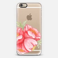 Red Hot Hibiscus iPhone 6s case by Seek Paper Co.   Casetify