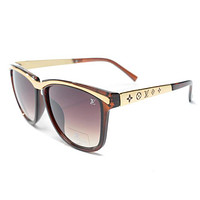 LV Women Fashion Popular Summer Sun Shades Eyeglasses Glasses Sunglasses Tagre™